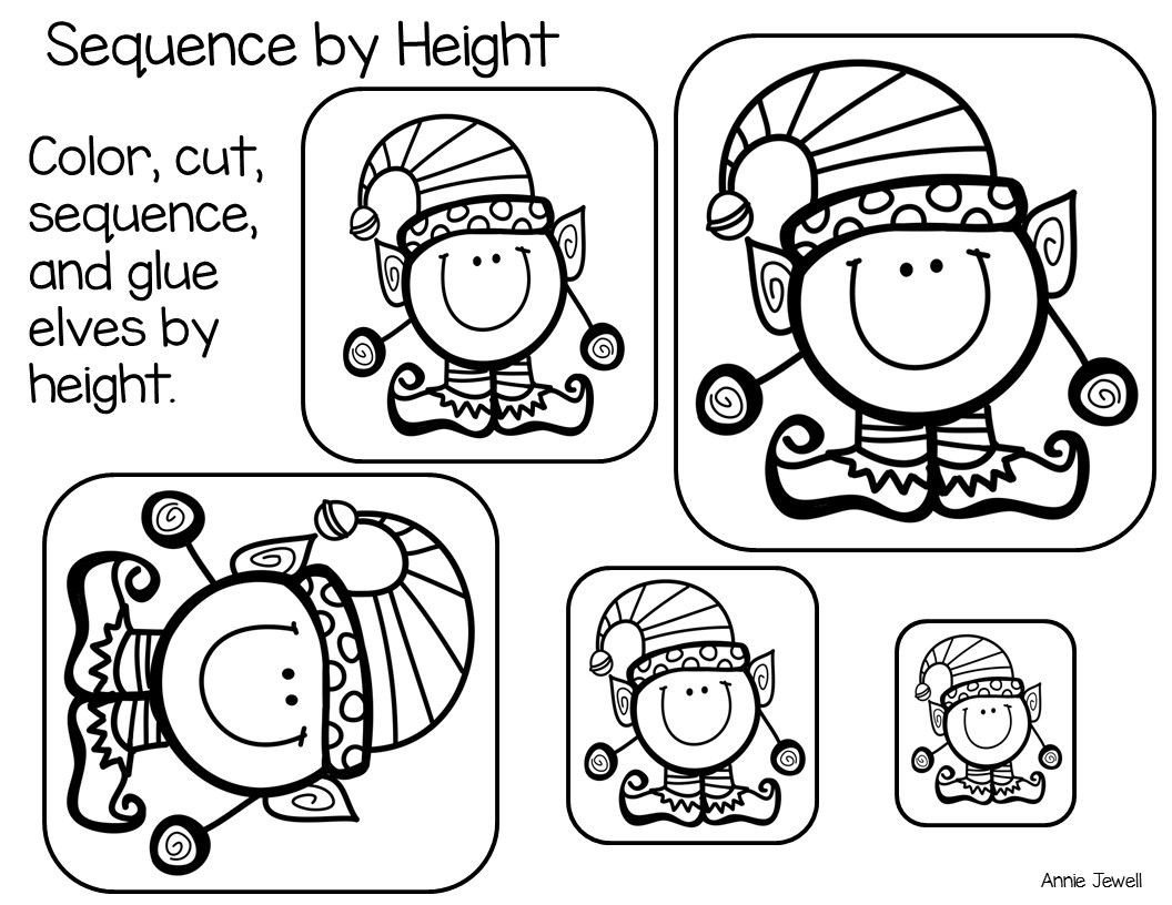 Weight Worksheets for Kindergarten Sequence by Size Height Length Weight Capacity