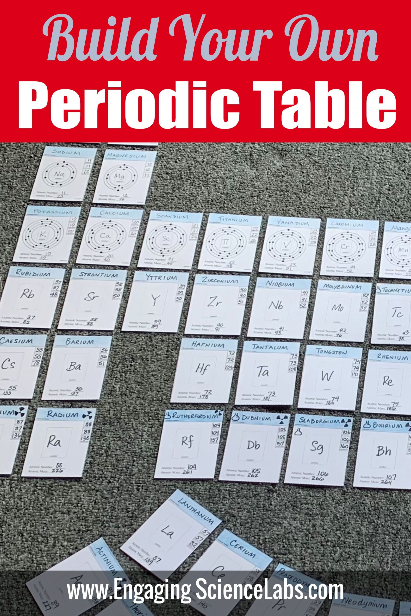 Building the Periodic Table Worksheet Pin On Engaging Science Labs Curriculum