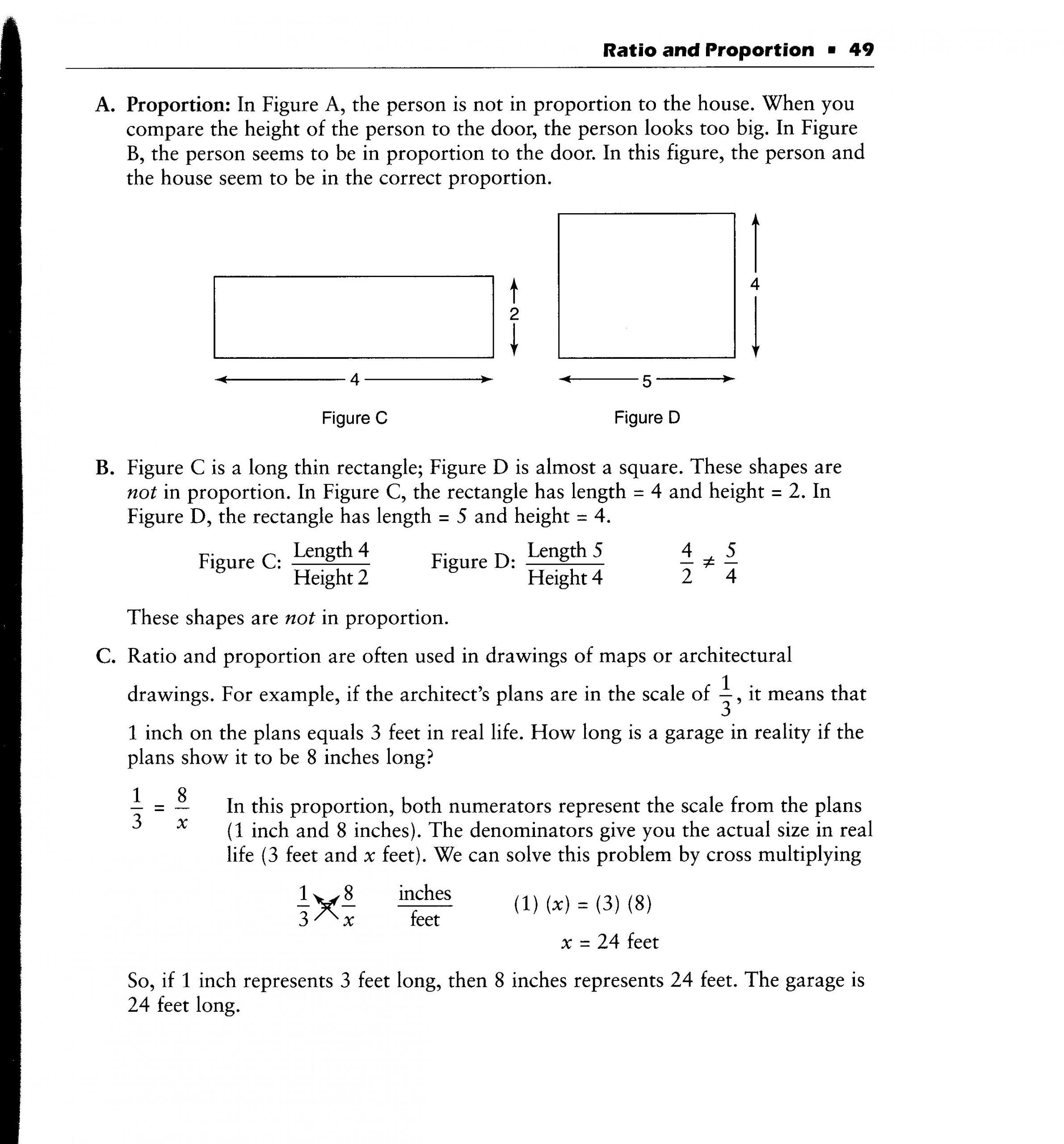 Comparing Ratios Using Tables Worksheet Real Life Ratios Worksheet
