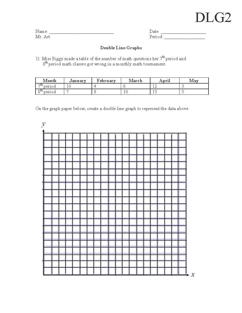 Data Table Worksheet Middle School Semi Truck School Graphing Worksheets Middle Science Data