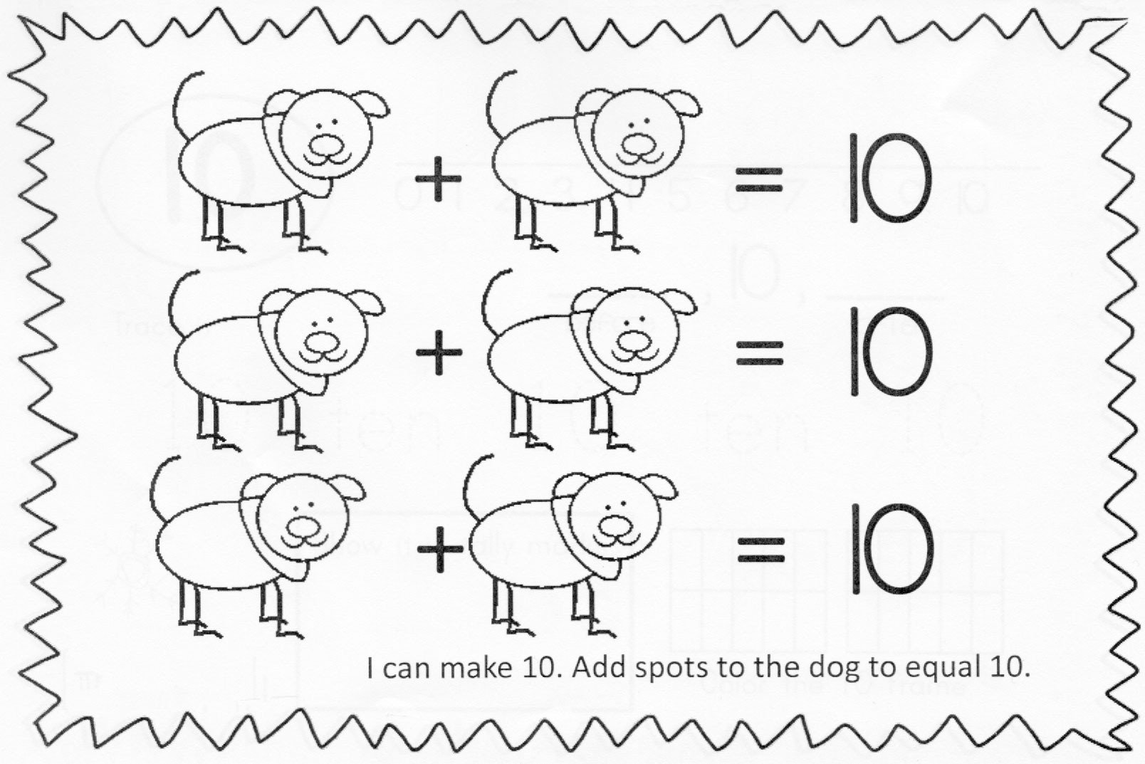 Decomposing Numbers to 10 Worksheets De Posing Numbers Less Than Equal to 10