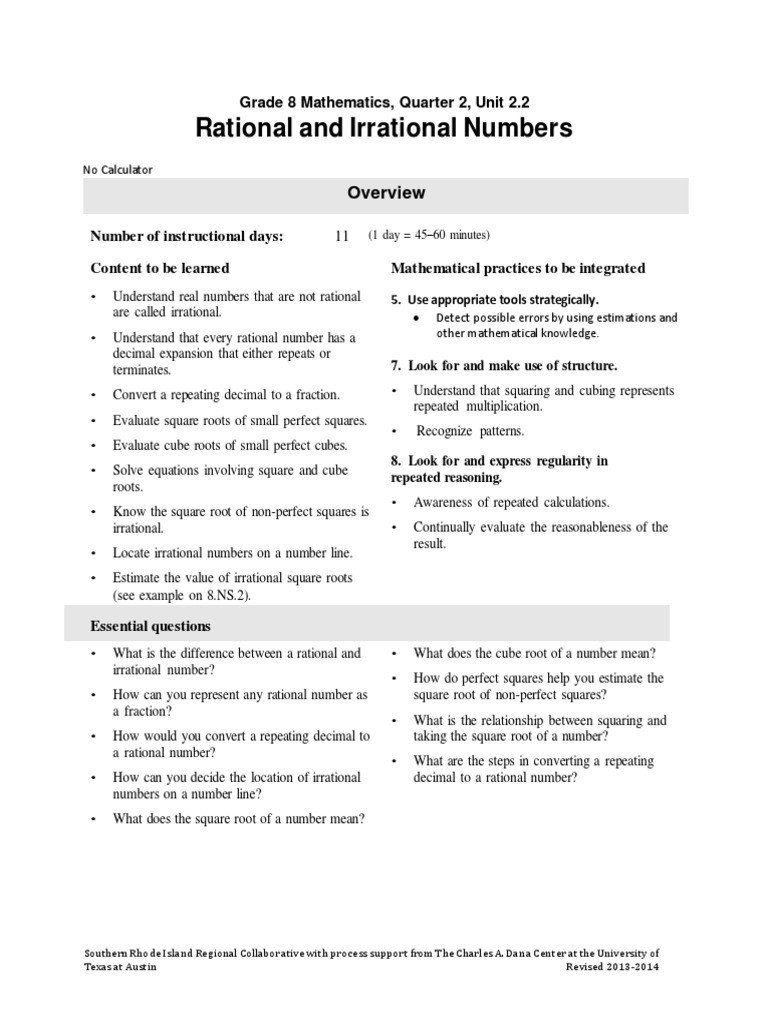 Estimating Irrational Numbers Worksheet Pin On Printable Worksheet for Kindergarten