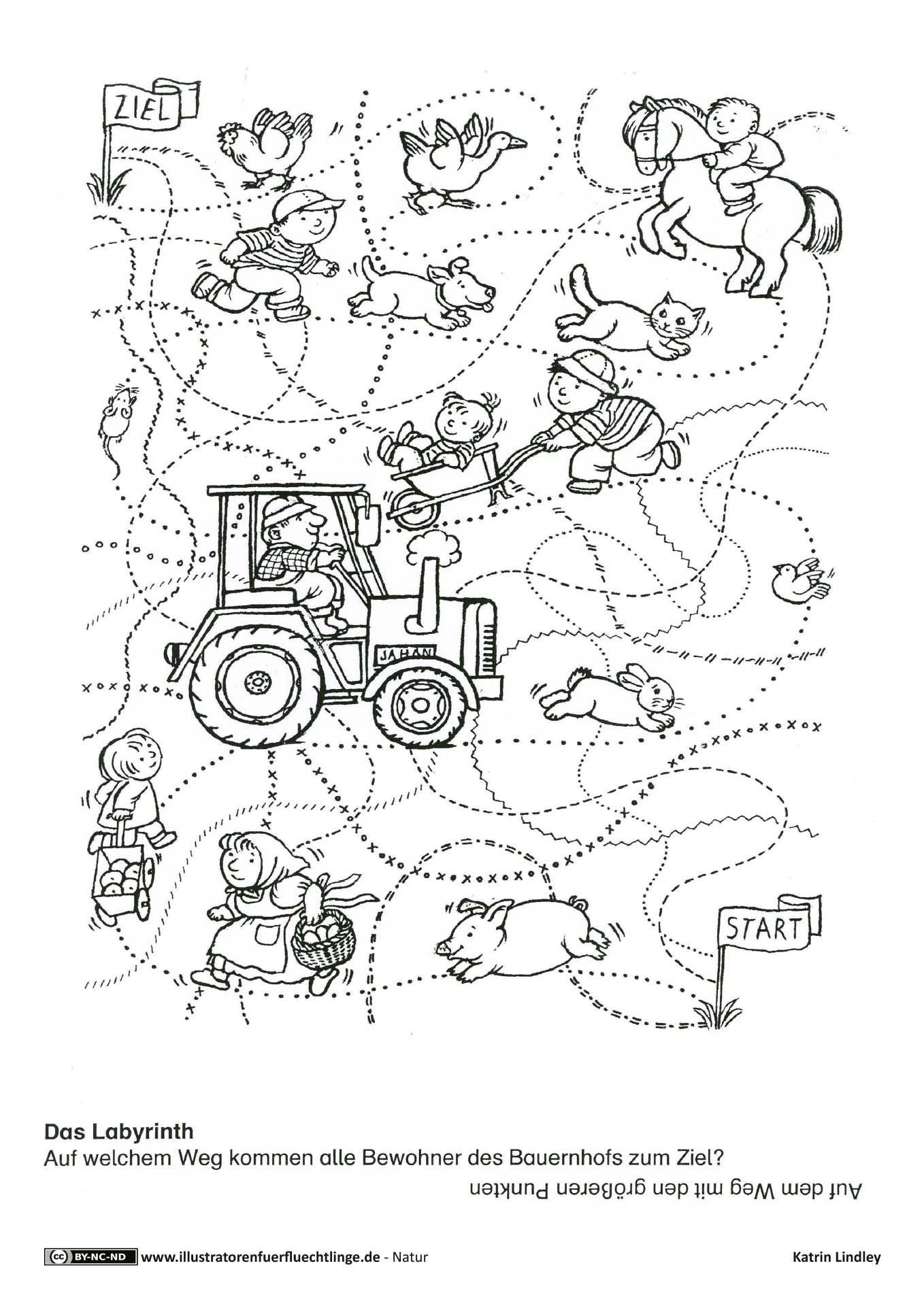 From Farm to Table Worksheets Farm Riddle Traces Episodes Illustrators for Refugees