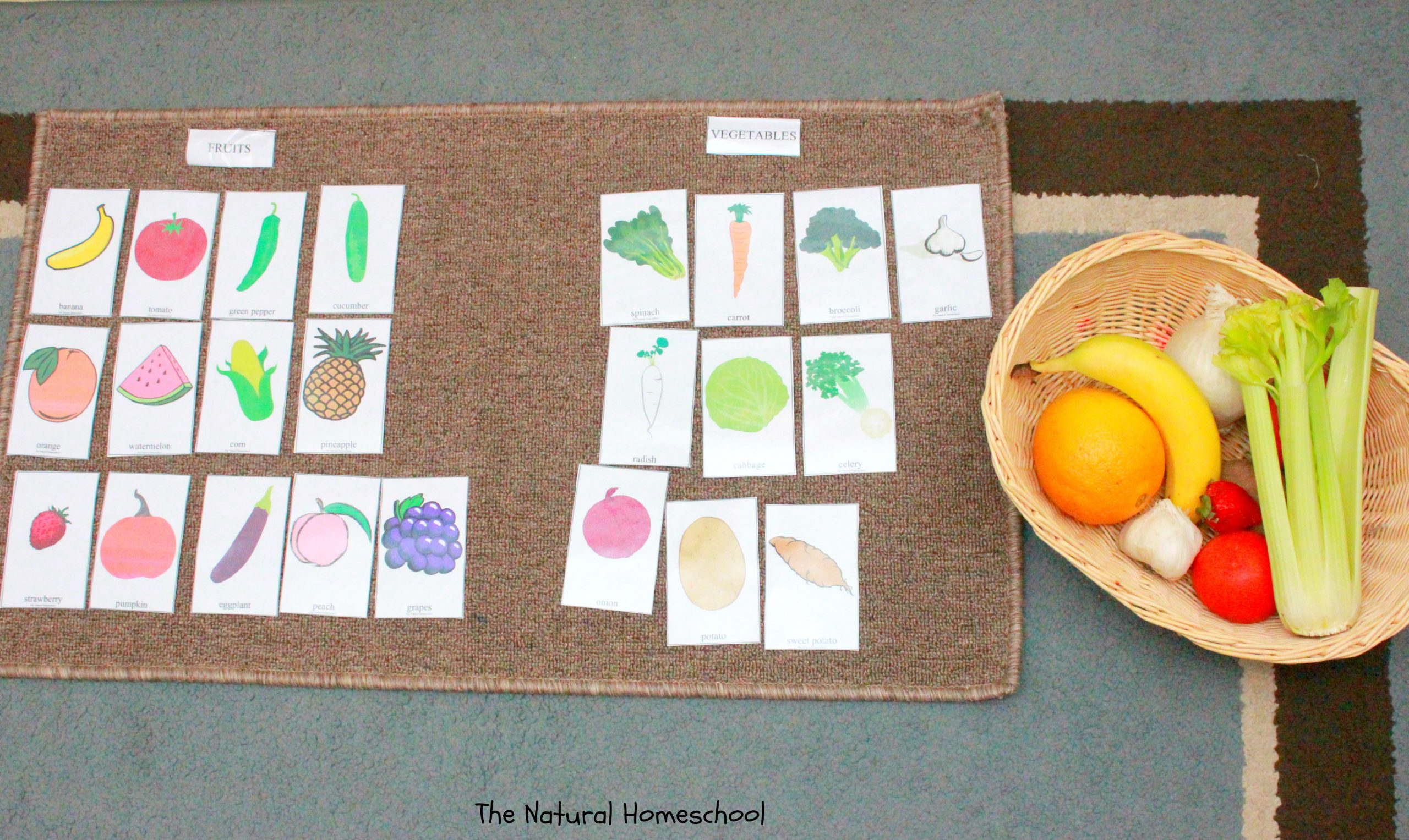 Fruits and Vegetables sorting Worksheet Naming sorting Coloring & Matching Fruits & Ve Ables