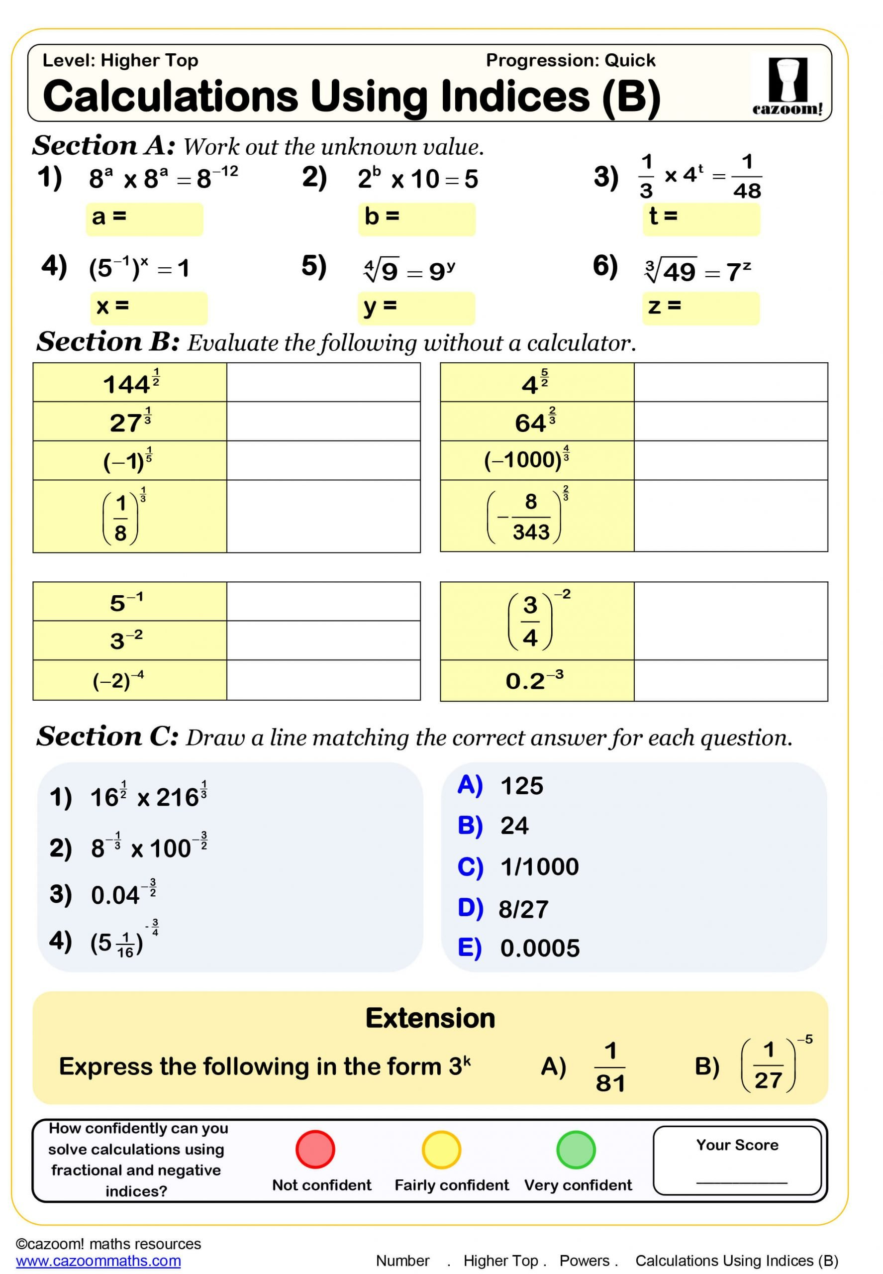 Function Table Worksheets Pdf Year 10 Maths Worksheets