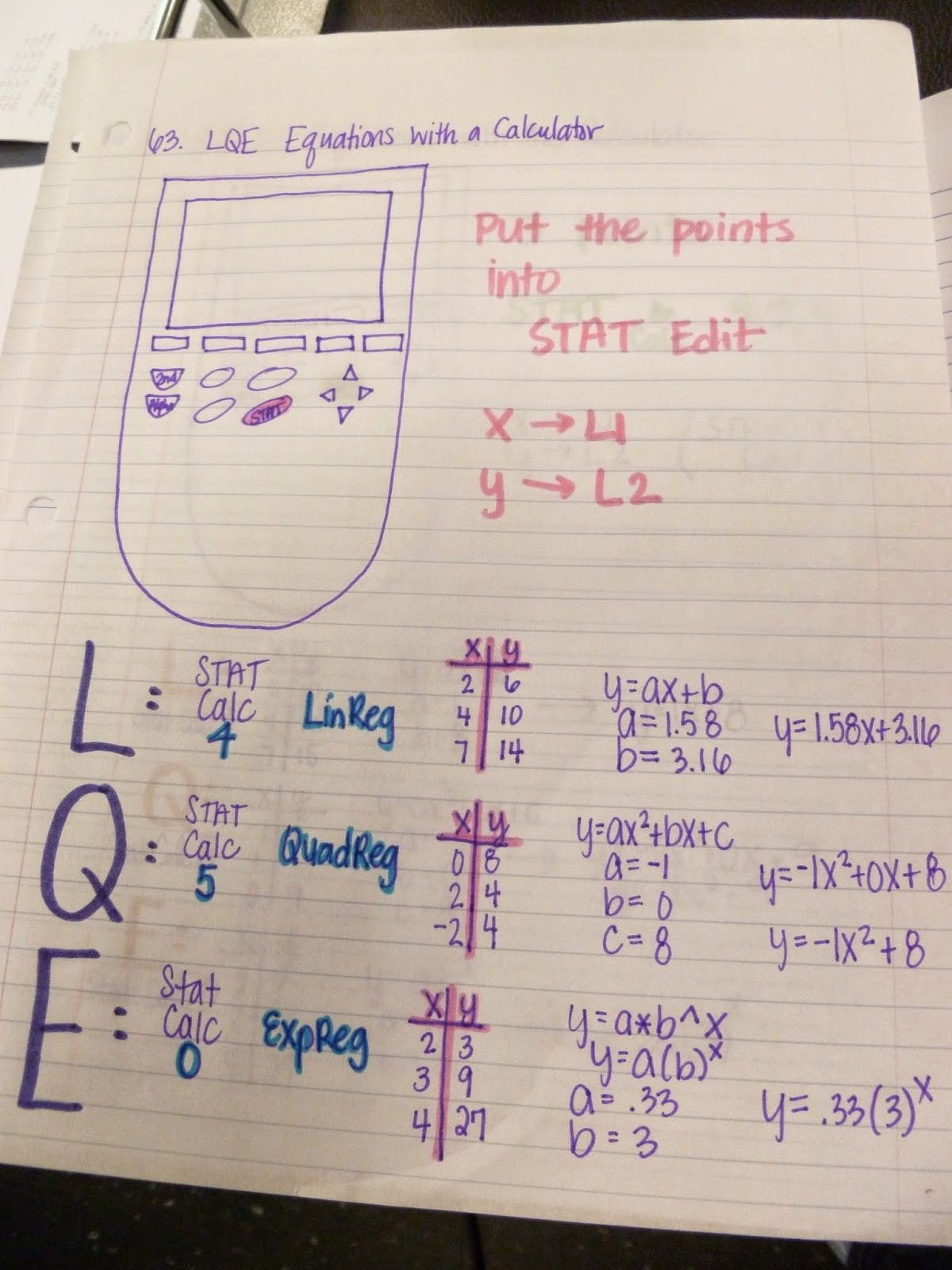 Linear Quadratic Exponential Tables Worksheet Friday Freebies Paring Linear Quadratic Exponential