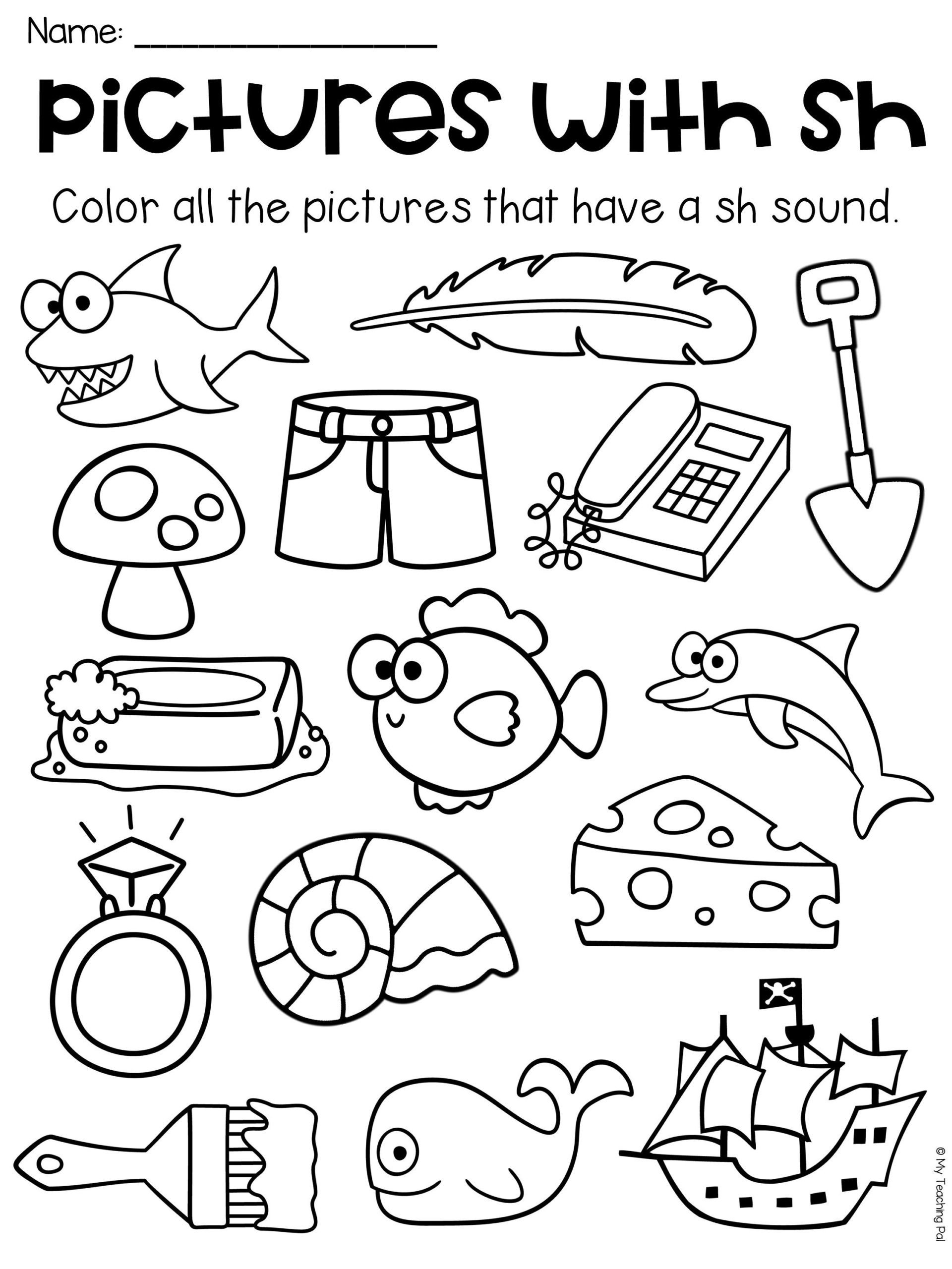 Long Vowel Coloring Worksheets Worksheet Packet Digraphs Worksheets Distance Learning Vowel