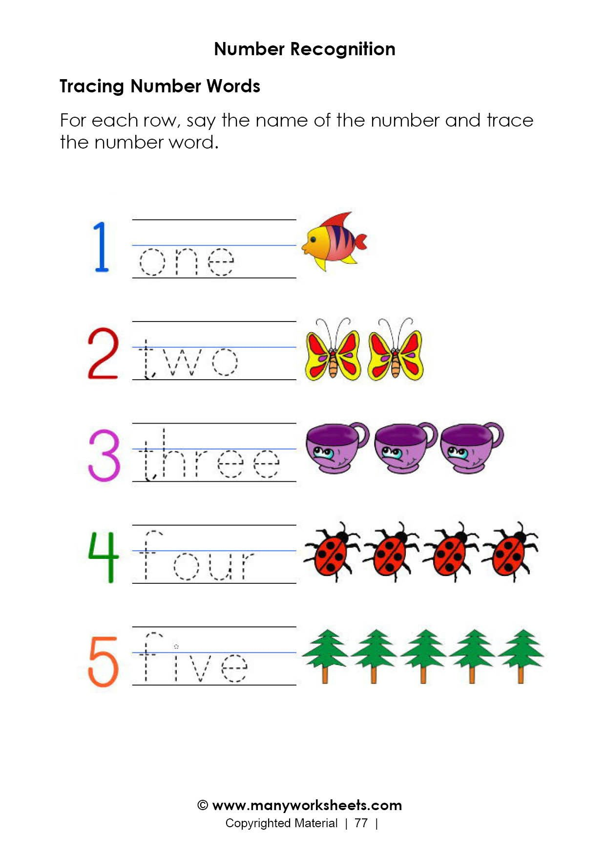 Numbers 1 5 Worksheets Number Recognition Worksheets High School Math Cheat Sheet