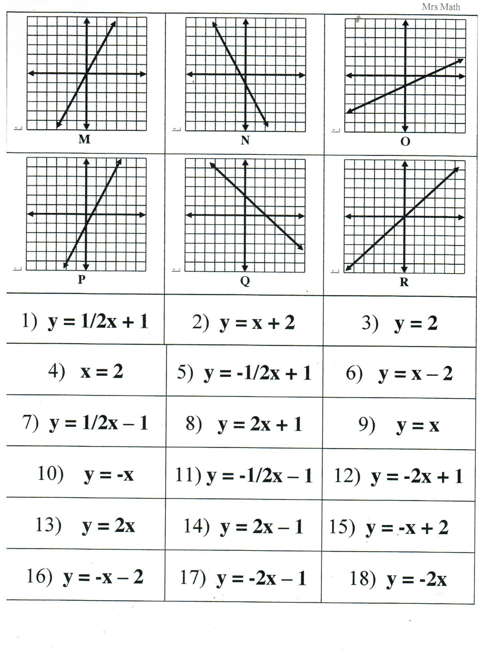 Tables and Graphs Worksheet Pin On Worksheets