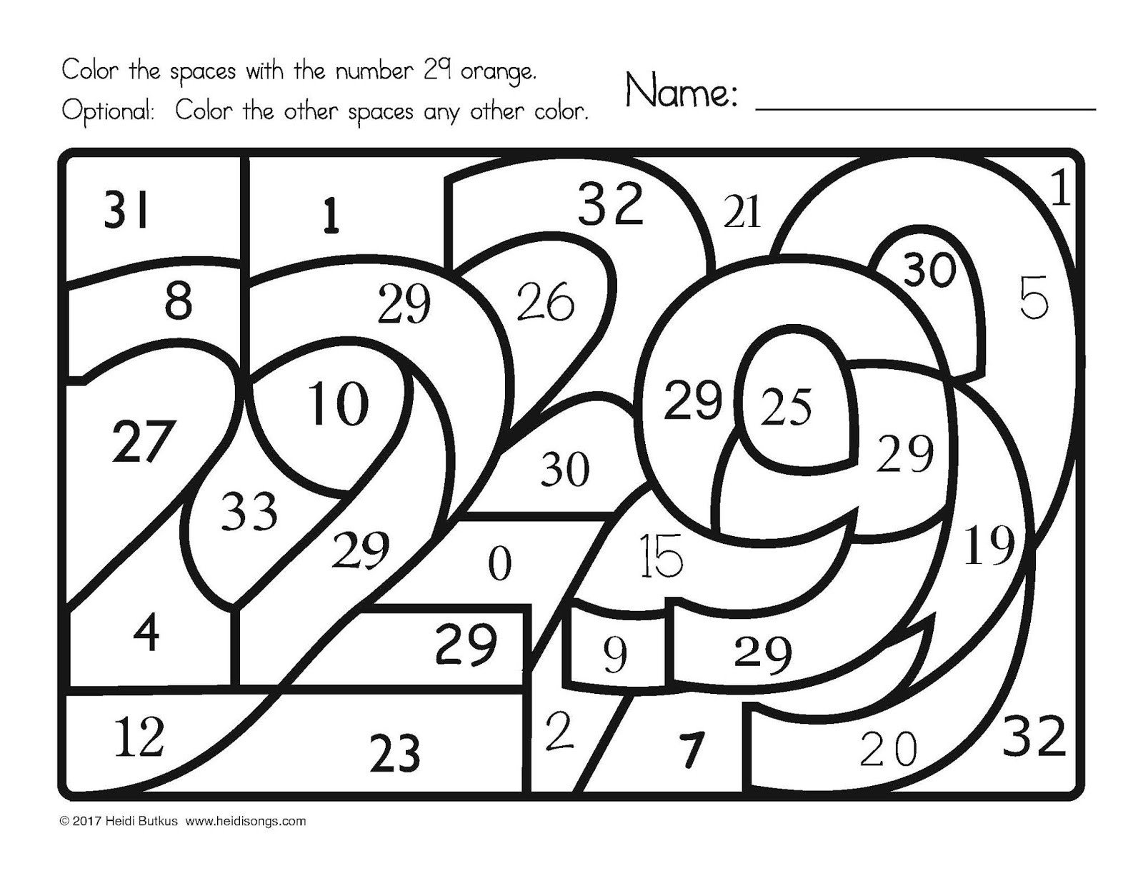 Trace Numbers 1 30 Worksheet Find the Number 1 30 Worksheets