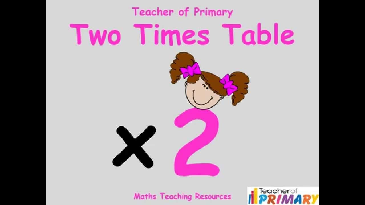 Two Times Tables Worksheet 2 Times Table Teaching Resource