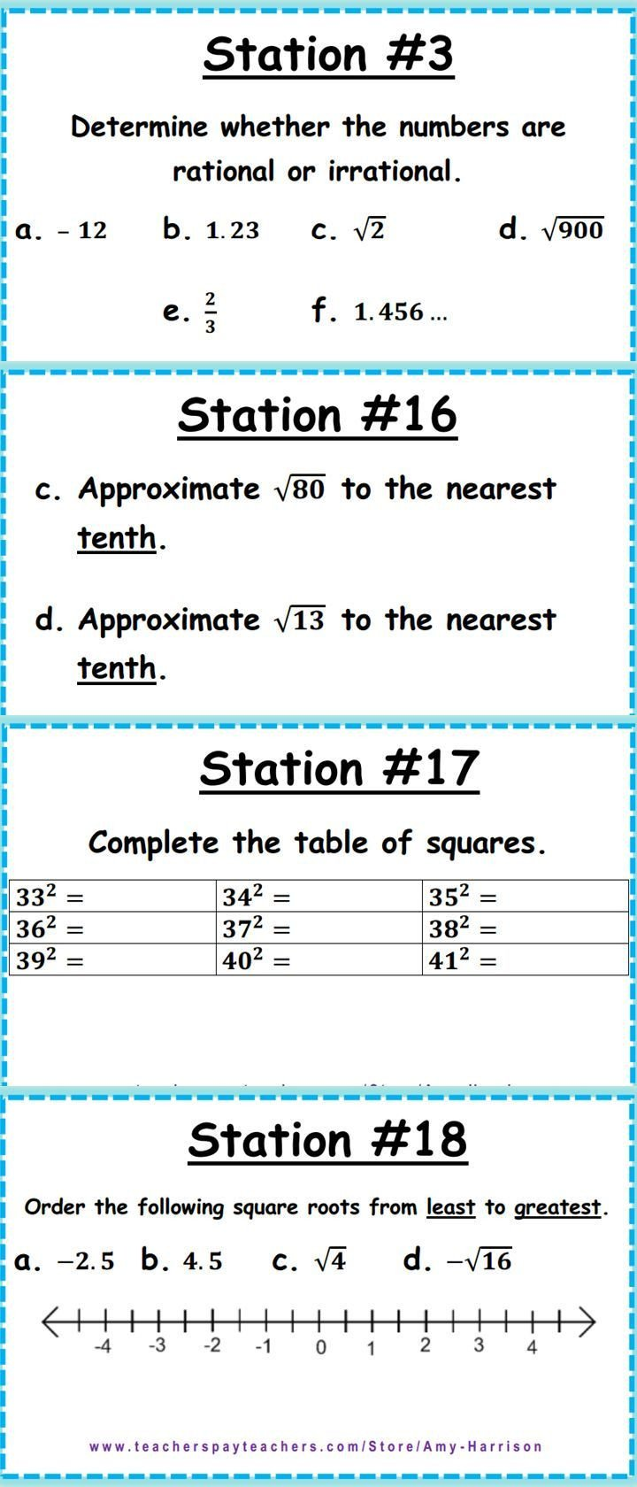 Approximating Irrational Numbers Worksheet Ccss 8 Ns 1 & 8 Ns 2 Irrational and Rational Numbers