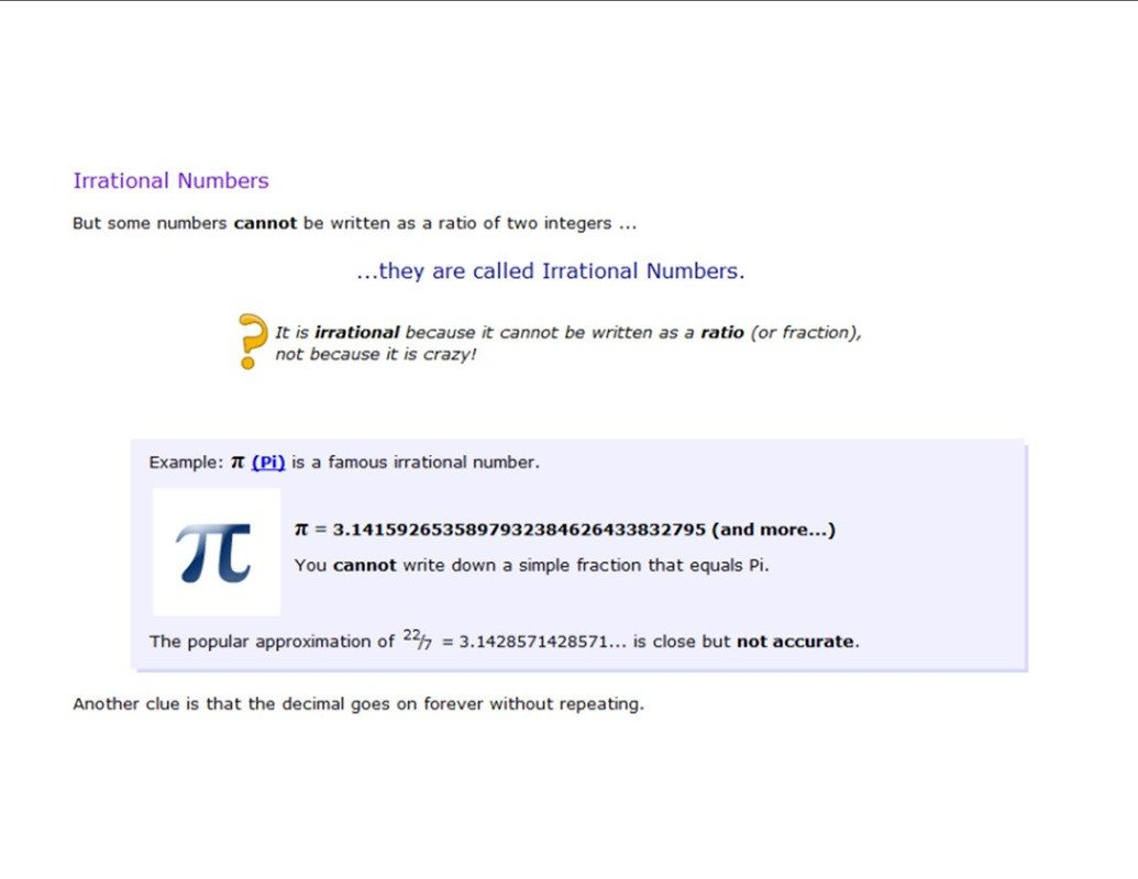 Approximating Irrational Numbers Worksheet Rational and Irrational Numbers 8th Grade Math