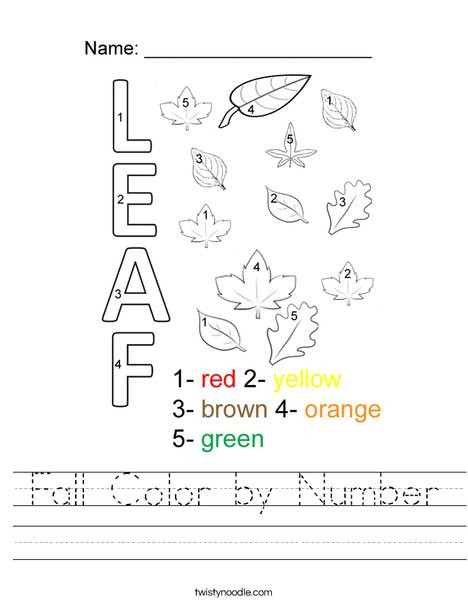 fall color by number worksheet png 468x609 q85