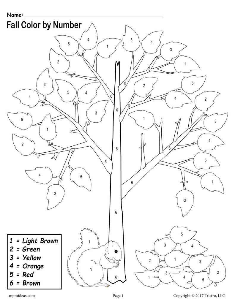 Fall 20leaves 20color 20by 20number 20worksheet 1024x1024