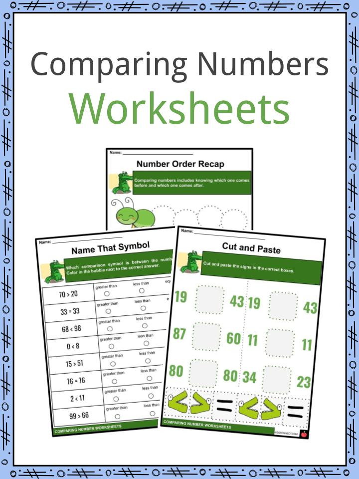 pare Numbers Worksheets 6