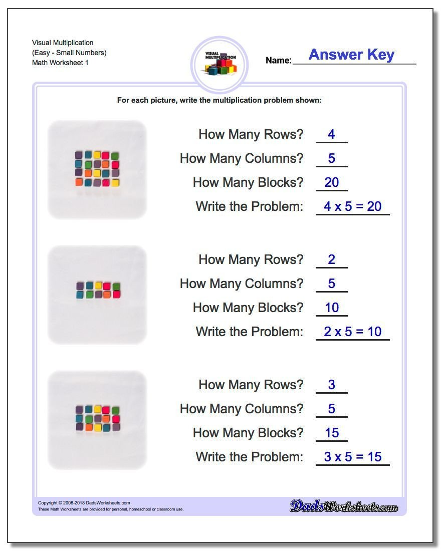 Compatible Numbers 3rd Grade Worksheets Visual Multiplication Worksheet Easysmall Numbers