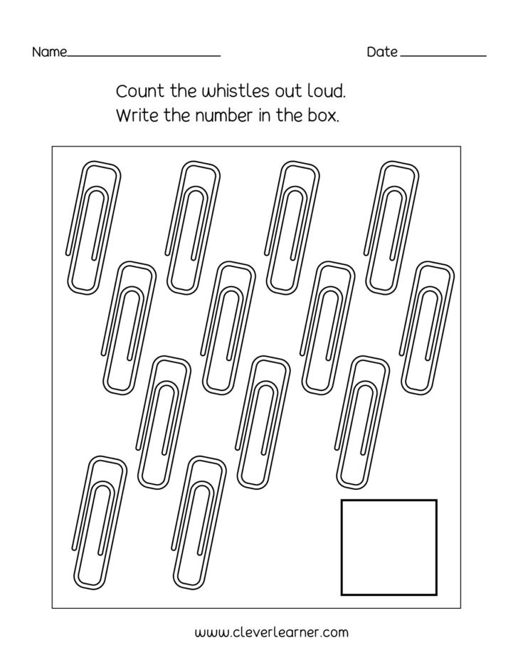 number writing counting and identification printable worksheets for 728x941