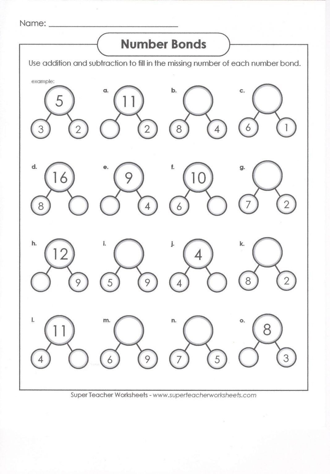 Number Bond Worksheets 1st Grade 40 Clever 1st Grade Math Worksheets Design Bacamajalah In