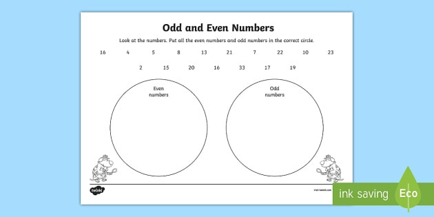 t n sorting odd and even numbers within 100 activity sheet