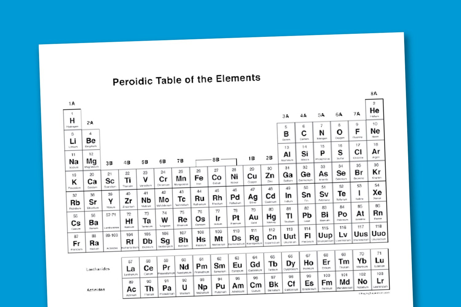 Periodic Table Fill In Worksheet Worksheet Wednesday Printable Periodic Table Paging Supermom