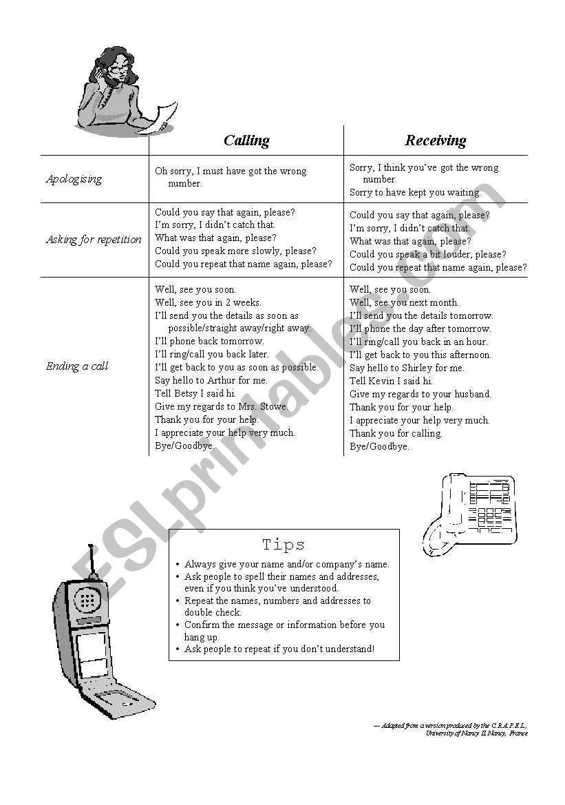 Sorry Wrong Number Worksheet Telephoning Worksheet