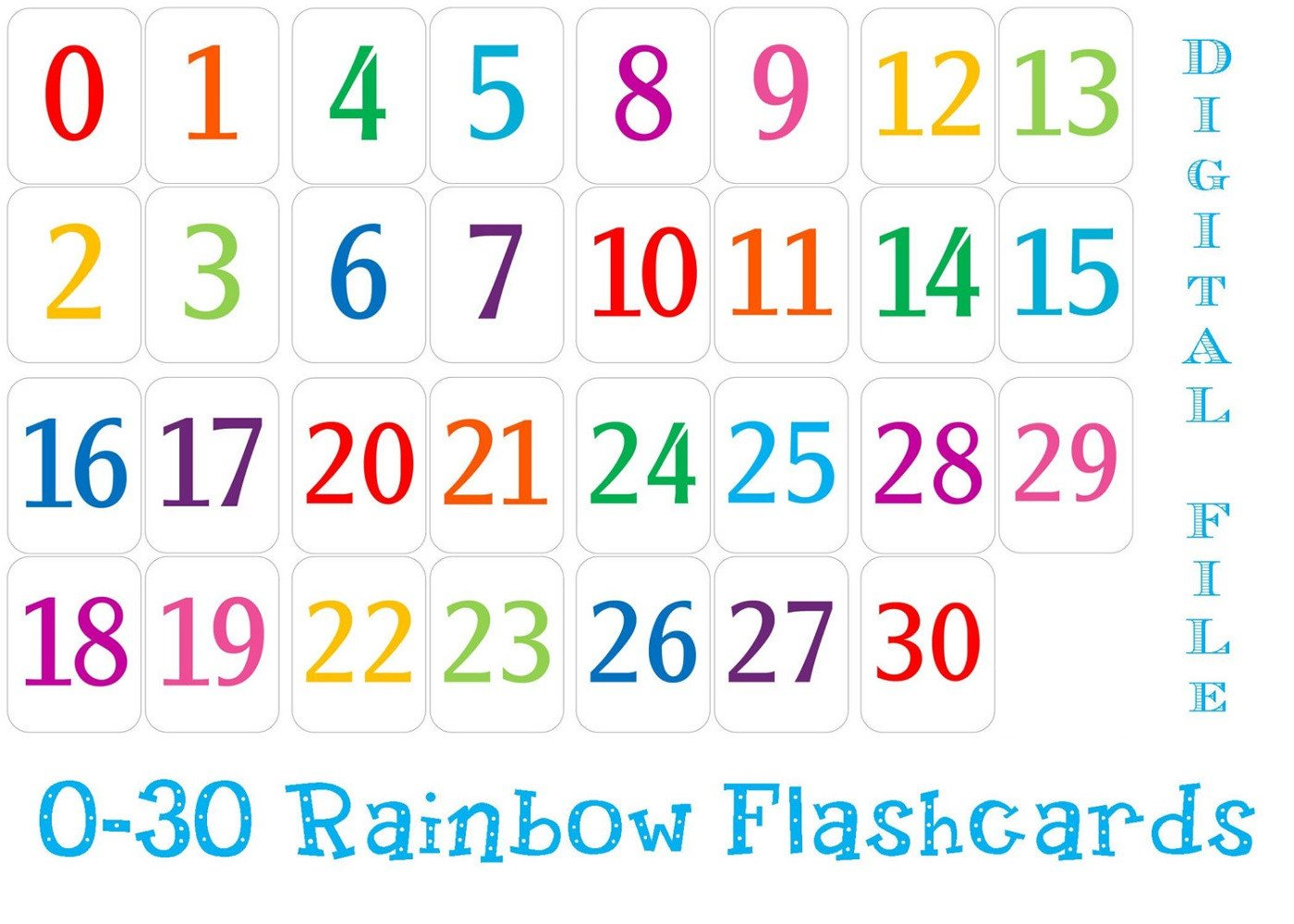 Spanish Numbers 1 30 Worksheet Printable Number 1 30 Worksheets