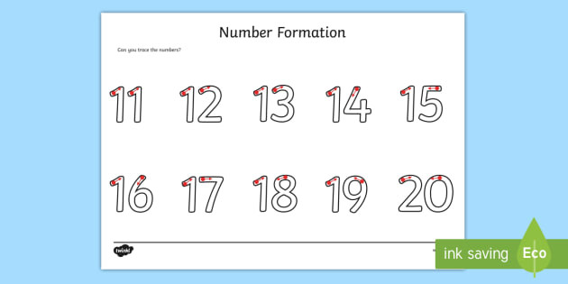 t n 1370 number formation worksheet 11 20