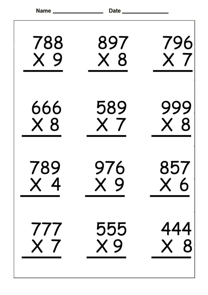 4th gradetiplication worksheet staggering fourth worksheets math games free word problems