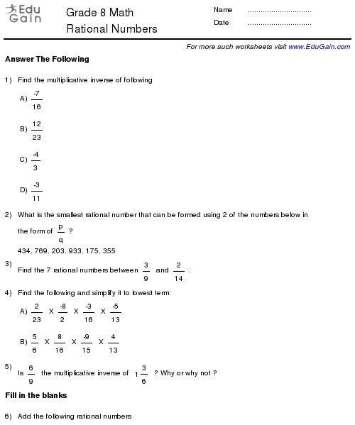 pin on alvena in grade math worksheets rational numbers games modular arithmetic