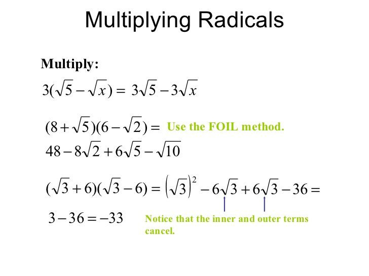 Adding Subtracting Multiplying Radicals Worksheet Algebraic Expression Equation Difference Google Search