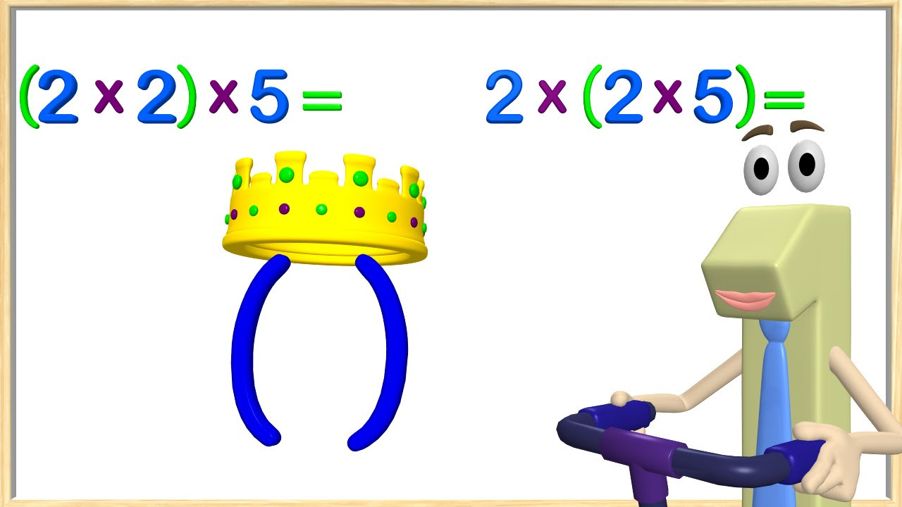 Associative Property Of Multiplication Worksheet Multiplication associative Property 3rd Grade Math Videos for Kids