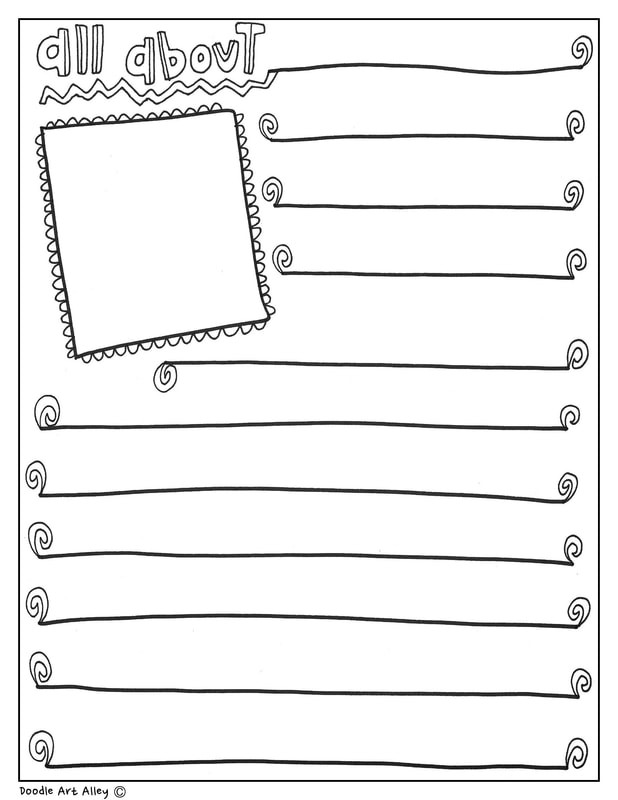 Black History Printable Worksheets Black History Month Printables Classroom Doodles