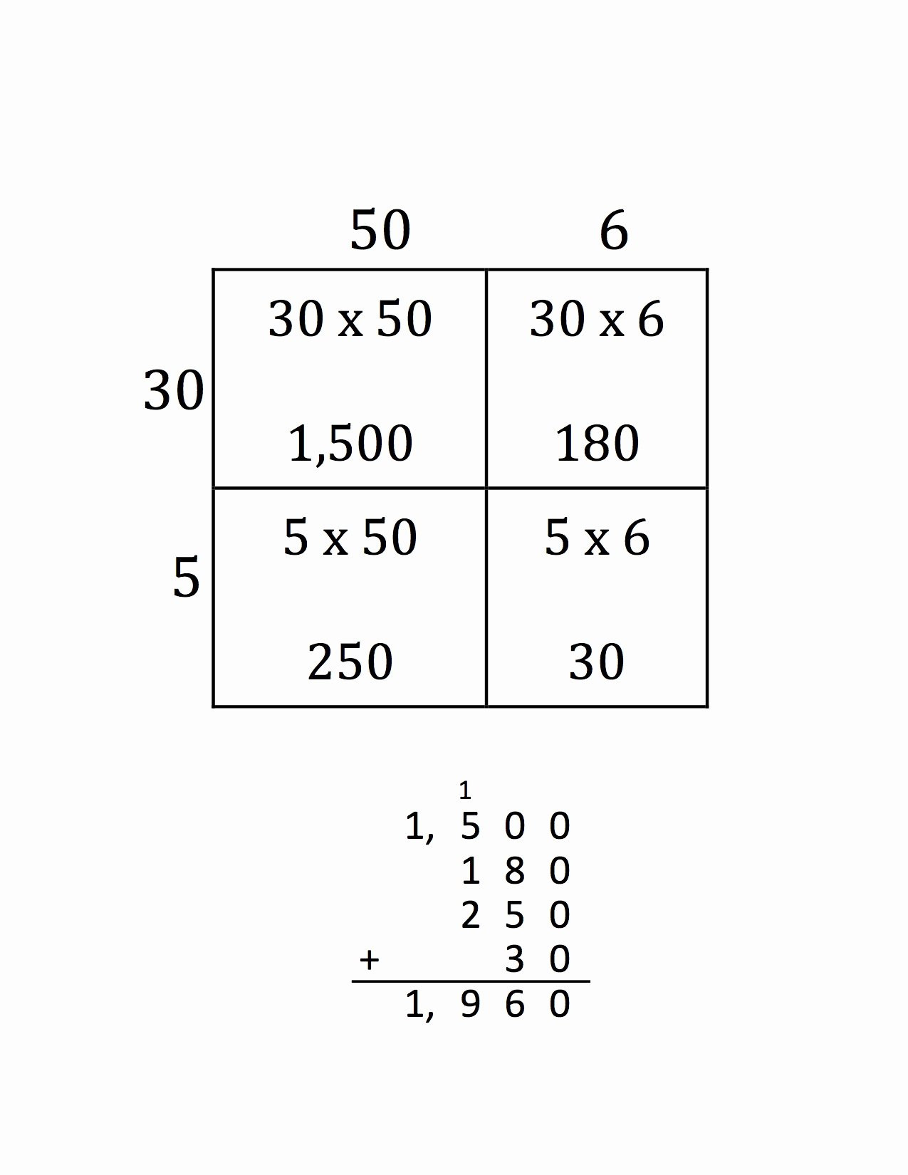 break apart method multiplication worksheets top math miss bupp s class of break apart method multiplication worksheets