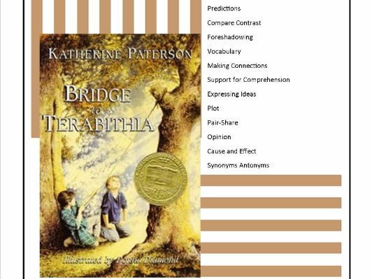 Bridge to Terabithia Printable Worksheets Bridge to Terabithia Mon Core Aligned 43 Worksheets and Activities