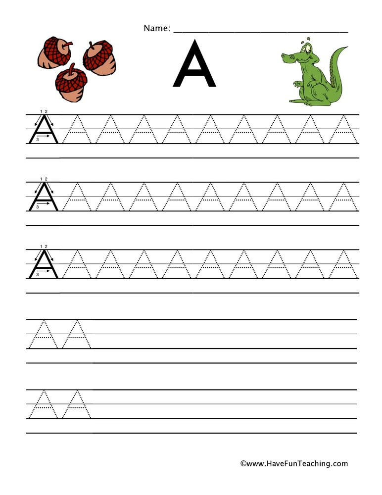 Capital and Lowercase Letters Worksheet Handwriting Capital Lowercase Letters Worksheet