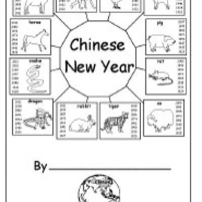 Chinese New Year Worksheets Printable Chinese New Year Activity Book – Tip Junkie
