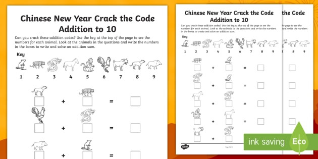 Chinese New Year Worksheets Printable Chinese New Year Math Worksheets Worksheets Pearson Math