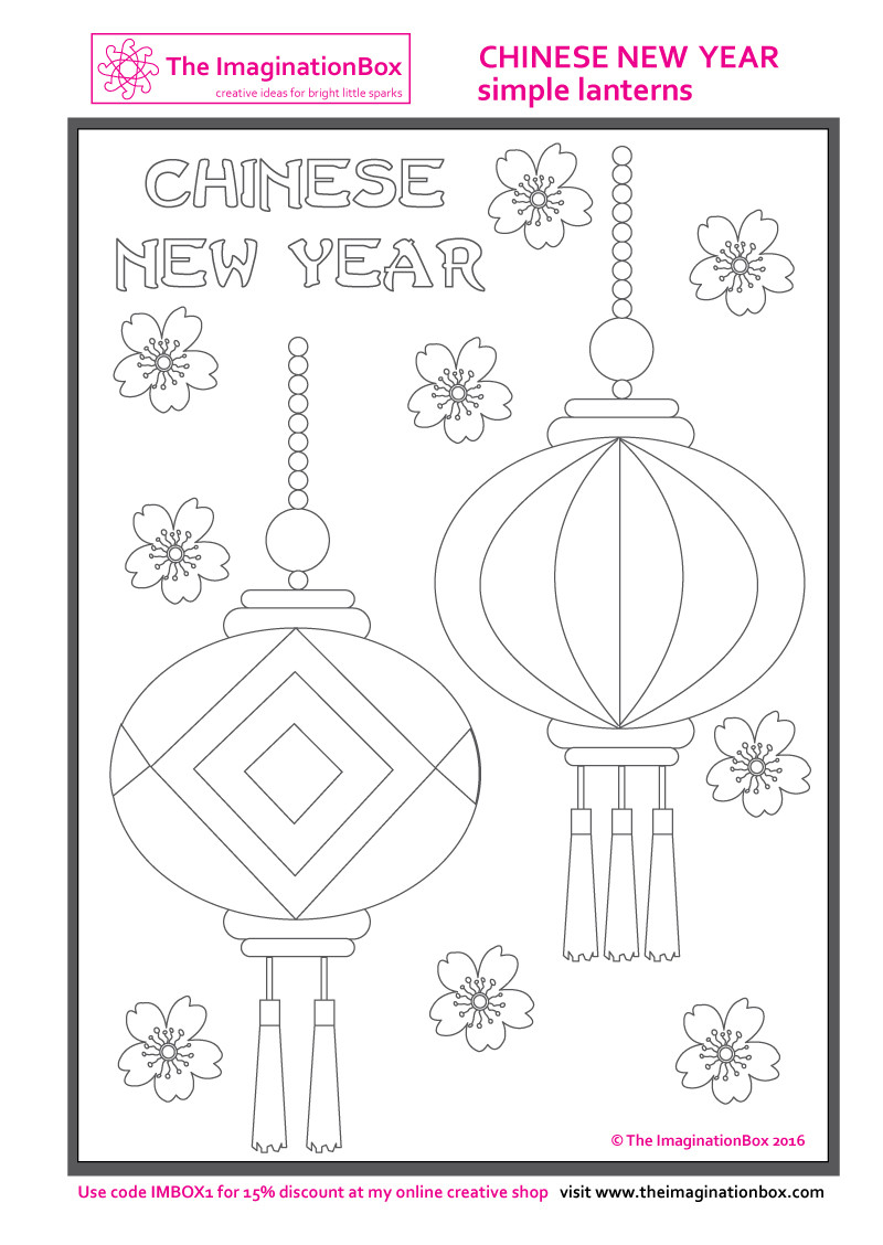 Chinese New Year Worksheets Printable Chinese New Year Printables Art & Craft Ideas for Kids