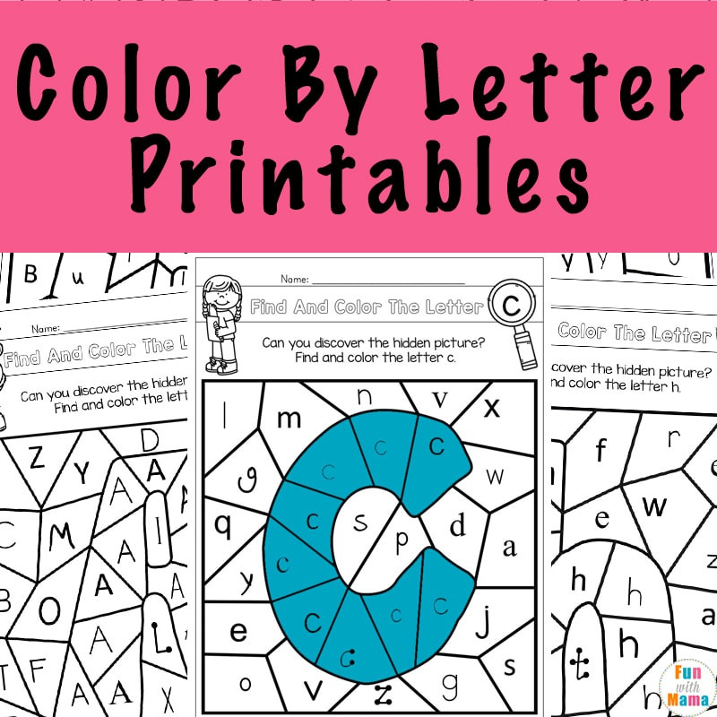 Color by Number Printables a