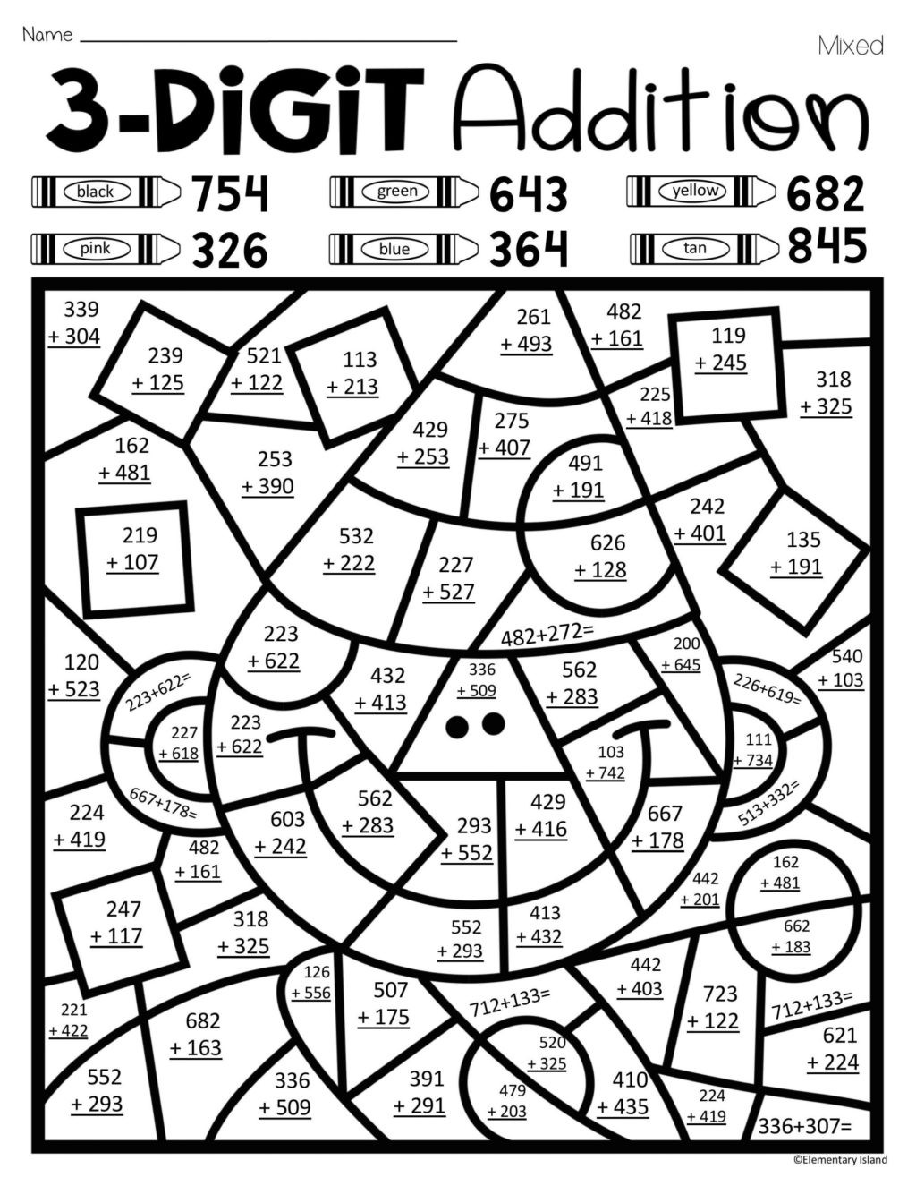 Color by Multiplication Worksheet Math Worksheet Coloring Book Addition Coloringts Picture