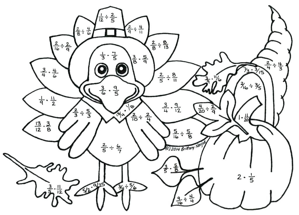 Color by Number Thanksgiving Worksheets 13 Enjoyable Thanksgiving Color by Number Worksheets