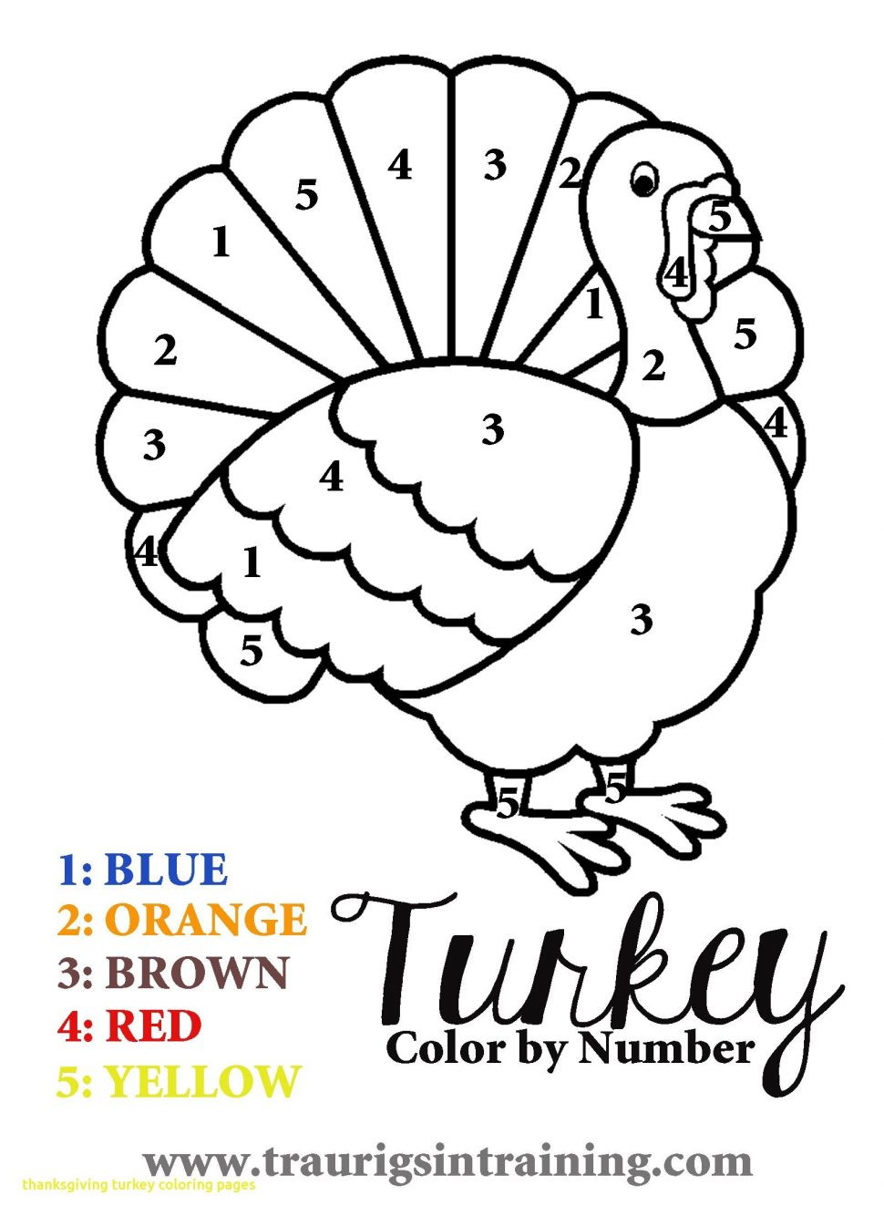 Color by Number Thanksgiving Worksheets Worksheet Pin Thanksgiving Color by Number Coloring