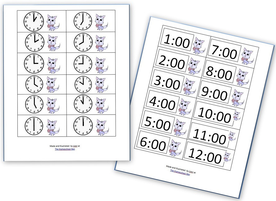 Digital Clock Worksheets Printable Telling Time Games Worksheets and More Homeschool Den