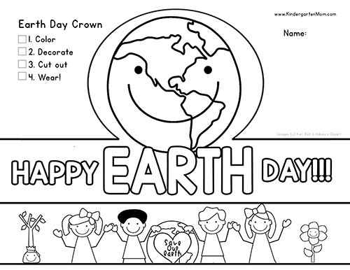 Earth Day Printable Worksheets Earth Day Printables Kindergarten Mom