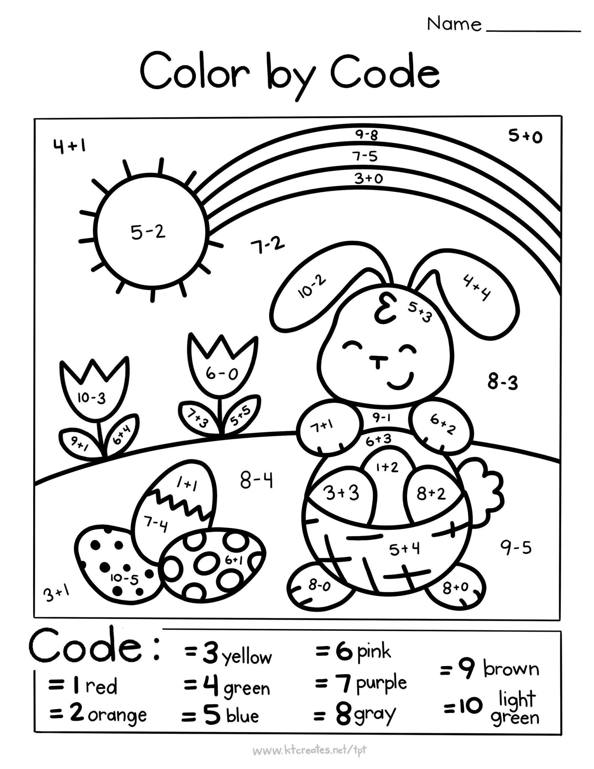 easter maths colouring image inspirations spring color by code simple math coloring il fullxfull e3y1 egg pictures to print printable bunny worksheets sheets sheet