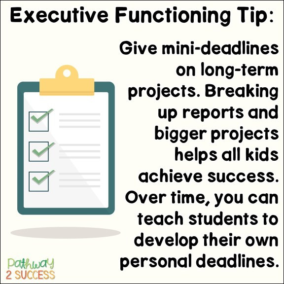 Executive Function Printable Worksheets Executive Functioning Skills Archives the Pathway 2 Success