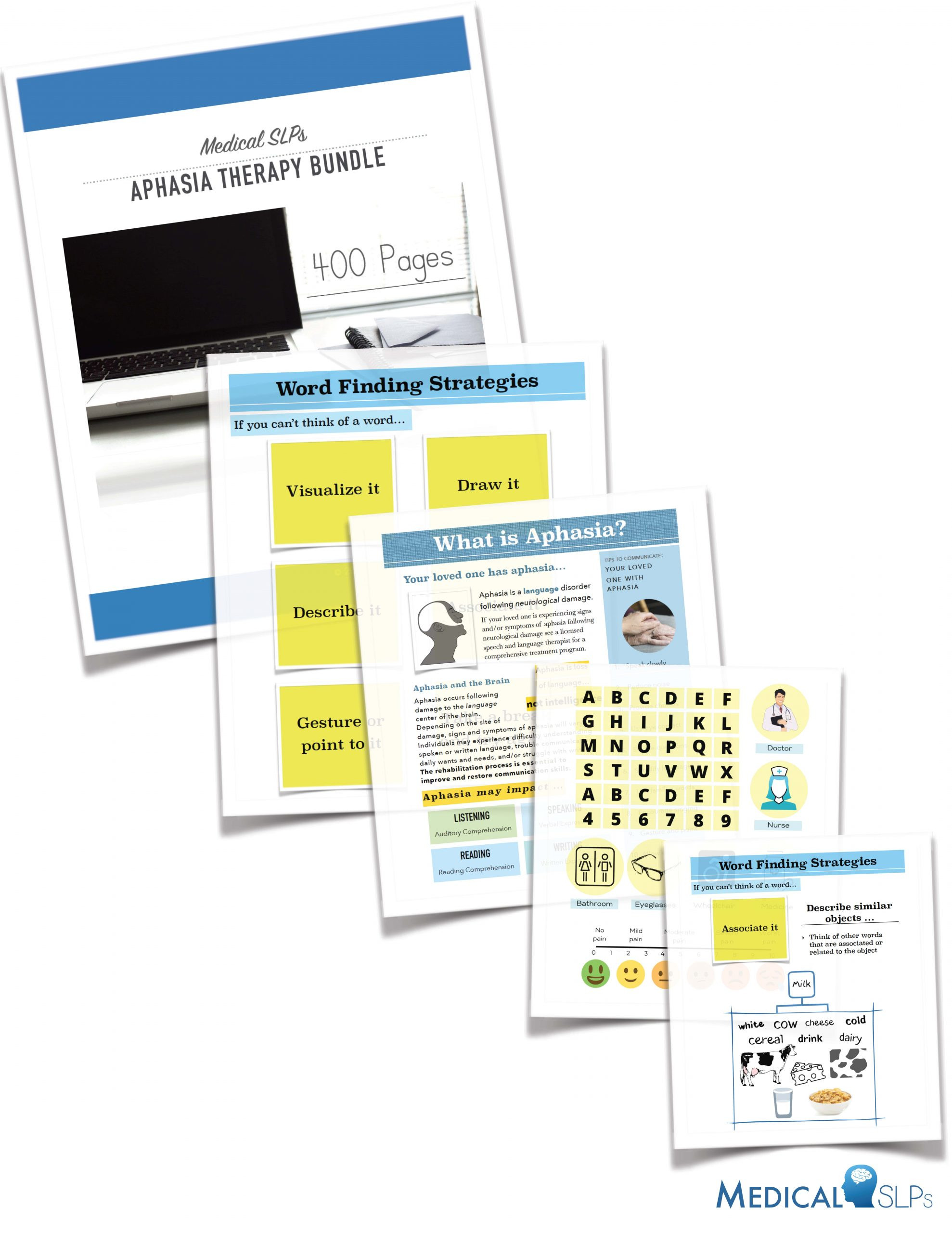 Free Aphasia Worksheets Printable Aphasia therapy Workbook