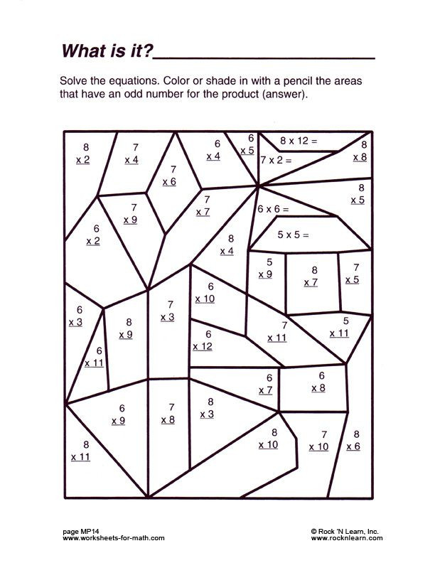 Free Fun Multiplication Worksheets Free Printable Math Worksheets