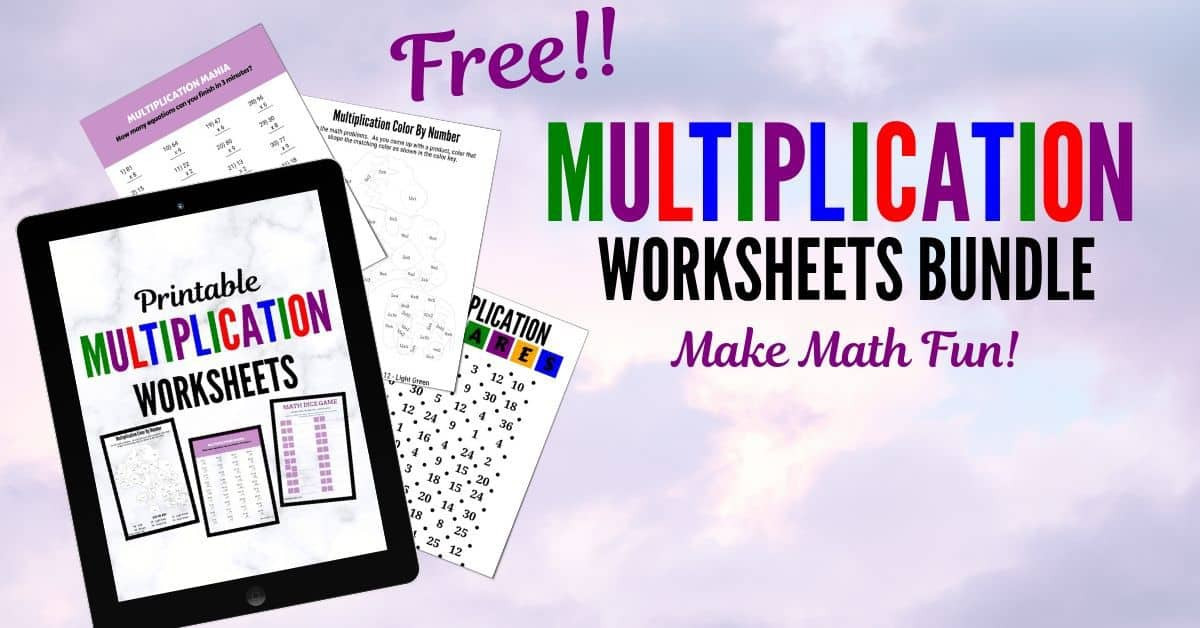 Free Fun Multiplication Worksheets Fun Free Printable Multiplication Worksheets